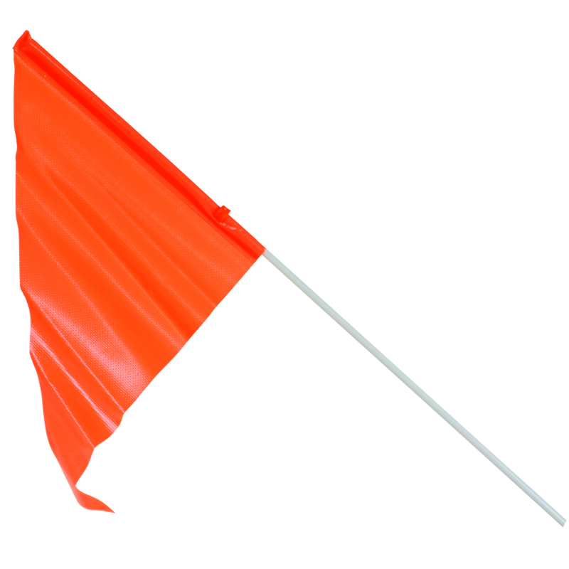 Sunlite Bicycle Safety Flag 59in Orange Bike Axle Mount